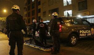 Pueblo Libre: hallan cadáver de hombre dentro de un tanque de agua