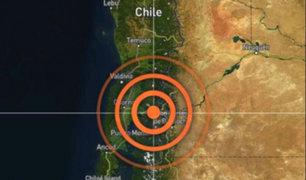 Chile: terremoto de magnitud 6.1 remeció el sur del país