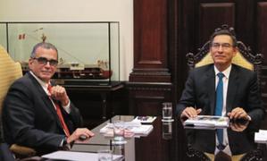 Datum: popularidad del presidente Martín Vizcarra alcanzó el 82%