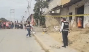 Pisco: sicarios disparan hasta siete veces y asesinan a niña de tres años