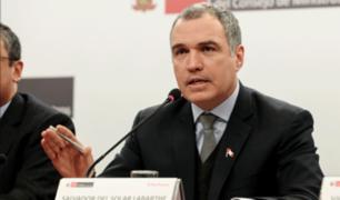 Salvador del Solar acudió al Congreso para presentar cuestión de confianza