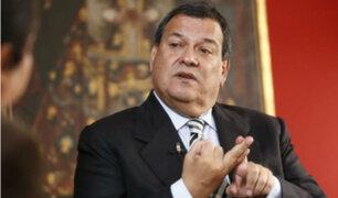 Nieto cuestionó declaraciones de Del Solar tras archivamiento de adelanto electoral