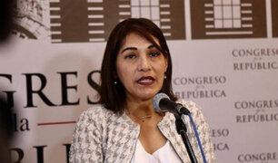 """Milagros Salazar: Fuerza Popular no tiene """"en agenda la vacancia de Vizcarra"""""""