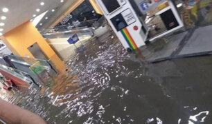México: techo de cine colapsa tras intensas precipitaciones