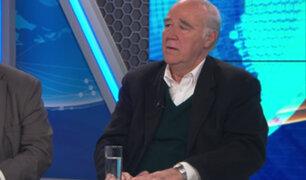 García Belaunde: Tenemos que aceptar los juegos de la democracia aunque no nos gusten