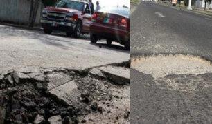 ¿Cómo afectan los huecos y baches en las pistas a nuestros vehículos?