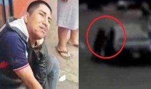 Chorrillos: conductor arrastró a delincuente que intentó robarle su celular