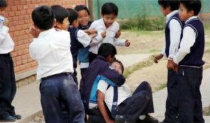 Minedu: 27 niños peruanos son víctimas de violencia escolar a diario