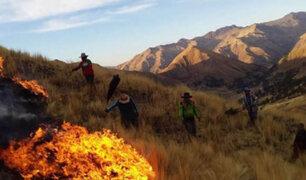 Cusco: detienen a dos sujetos por originar incendios forestales