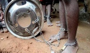 Nigeria: rescatan 500 hombres y niños que permanecían encadenados en una escuela