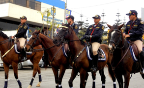 Villa El Salvador anuncia que reforzará patrullaje junto a la policía montada