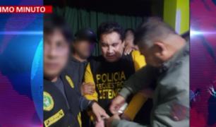 Prófugo ex alcalde de SJL, Carlos Burgos, fue capturado por la PNP