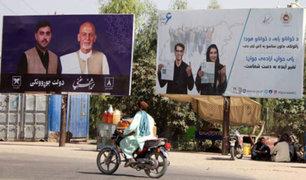 En medio de una ola de atentados afganos eligen hoy presidente