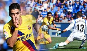 El Barcelona se reencuentra con la victoria frente al Getafe