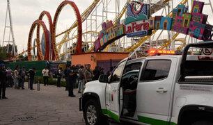 México: accidente en juego mecánico deja al menos dos muertos