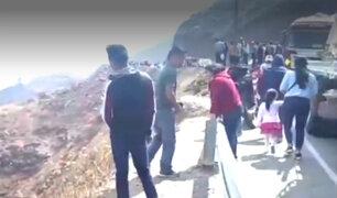 La Libertad: auto cae a abismo en Otuzco y deja un saldo de cinco muertos