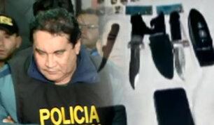 La caída de Carlos Burgos: imágenes exclusivas de su detención