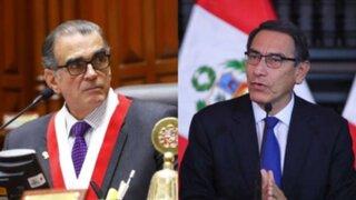 Olaechea: Si Vizcarra disuelve el Congreso estaría incurriendo en infracción Constitucional