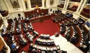 Mesa Directiva del Congreso decidió restablecer la semana de representación