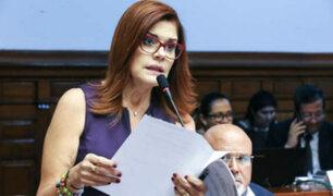Partido Nacionalista exhorta a renunciar a Mercedes Araoz para concretar elecciones generales