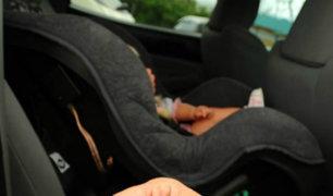 EEUU: niña pierde la vida tras ser dejada al interior de auto