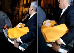Trabajadores del Congreso retiran documentos tras disolución del Parlamento