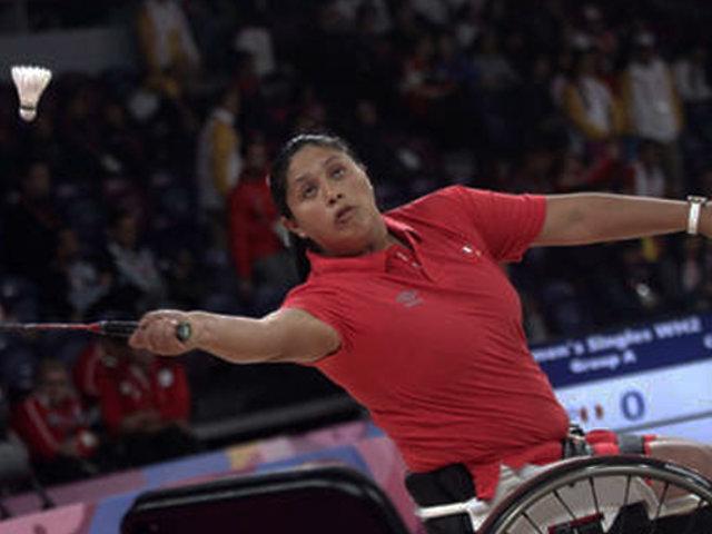 Lima 2019: Pilar Jáuregui consigue medalla de oro en para bádminton