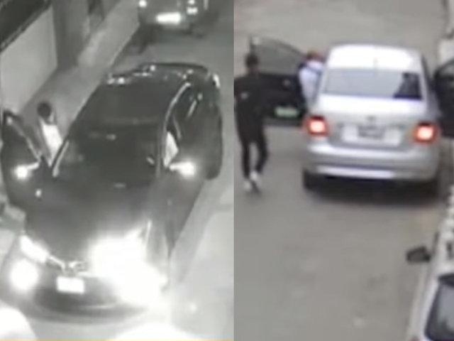 Asaltan a taxistas por aplicativo en la misma calle de Surco