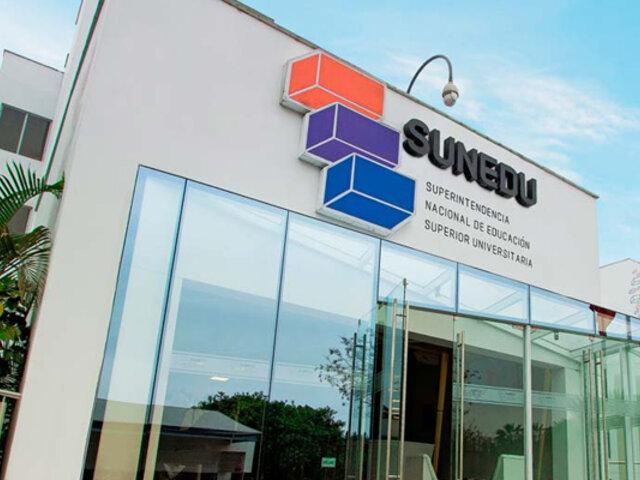 Sunedu: licencia a universidades Autónoma del Sur y Juan Mejía Baca fue denegada
