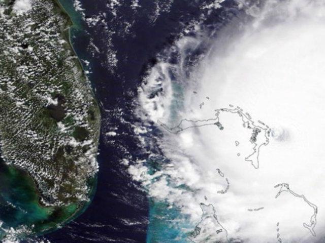 Huracán Dorian: fuerza de sus vientos sufren una ligera disminución a su paso por Bahamas