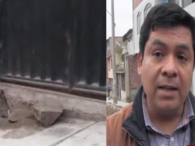 Municipalidad de VES responde por denuncias de veredas ´mal´ construidas