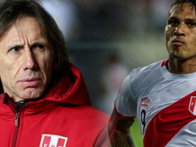 Gareca aclaró polémica sobre ausencia de Paolo Guerrero