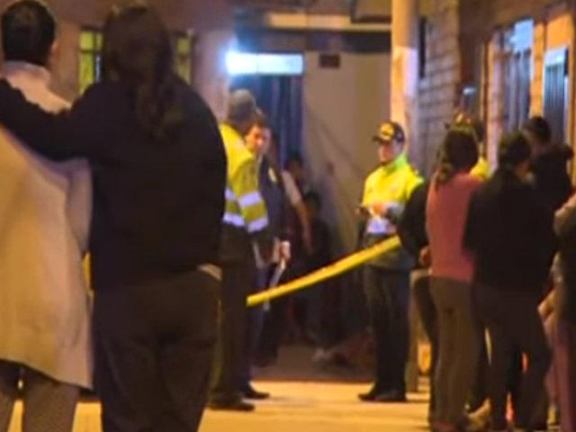 Cercado de Lima: hombre fue asesinado en la puerta de su casa