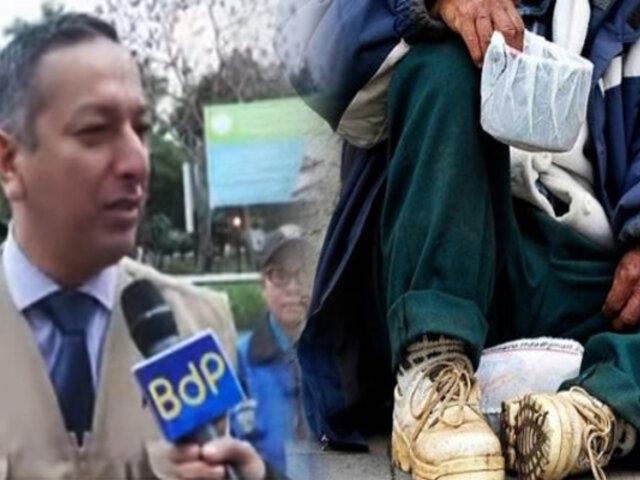 Miraflores: ya han detenido a 15 personas que fingían ser mendigos