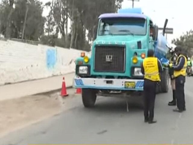 La Molina: restricción de vehículos pesados es un decreto que debió aplicarse desde 2009