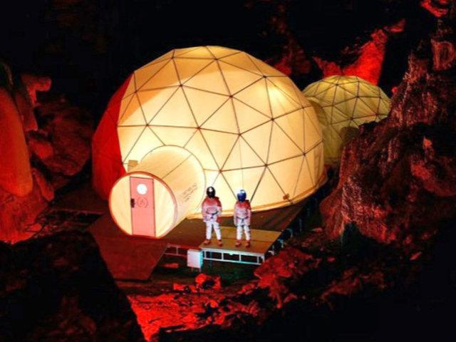 España: la futura vida humana en Marte es recreada en una cueva