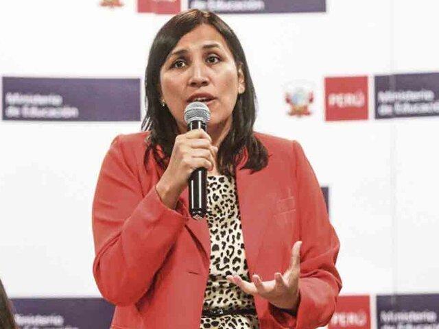 Tía María: ministra admite que clases perdidas en Islay ya no se recuperan