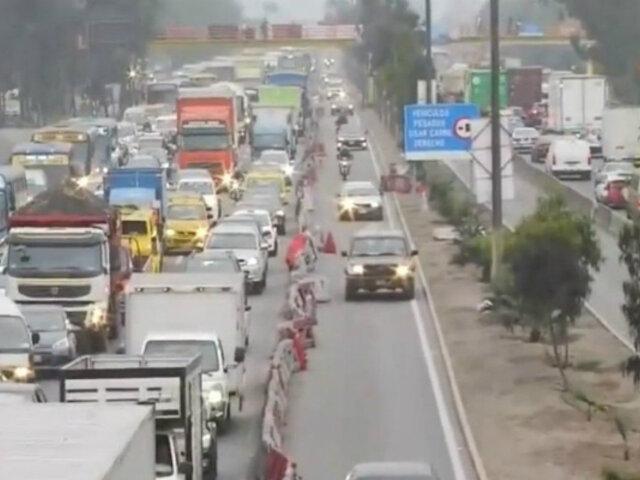 Lima 2019: carril exclusivo sigue en Panamericana Sur a pesar de culminación del evento