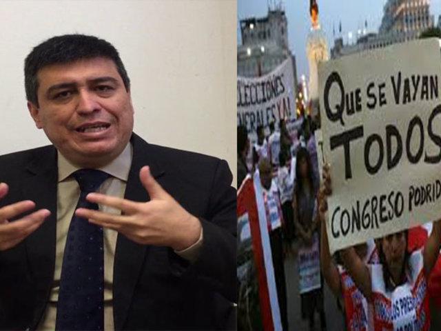 Ibo Urbiola: Adelanto de elecciones sería beneficioso para salir del entrampamiento