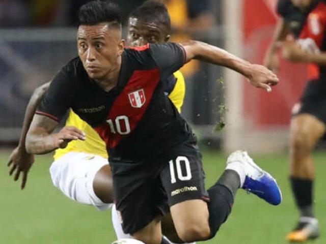 Christian Cueva tras derrota ante Ecuador: