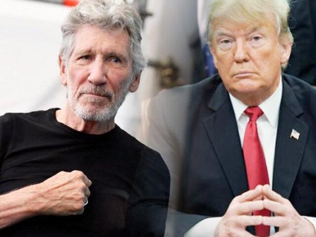 Roger Waters cuestiona a Donald Trump y manifiesta su rechazó a la xenofobia