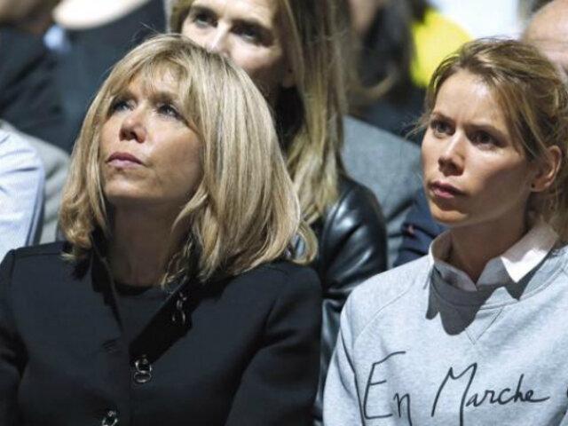 Francia: hija de primera dama lanza campaña contra misoginia