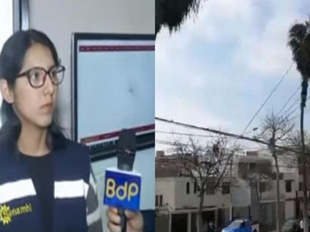Senamhi: bajas temperaturas en la Costa están vinculadas a vientos Paracas