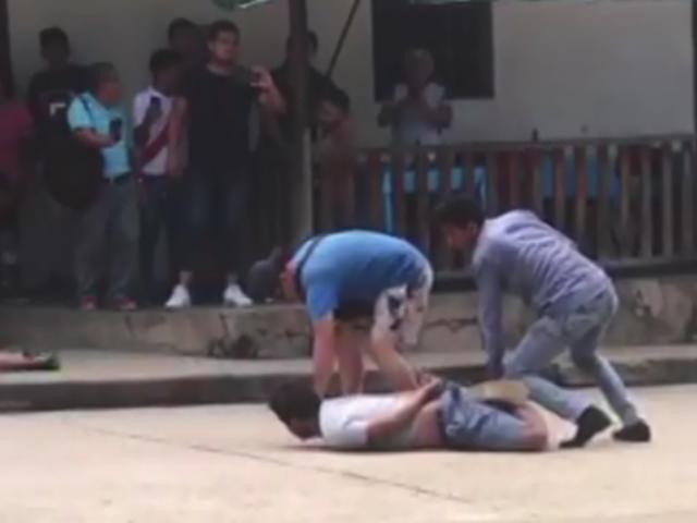 Tarapoto: detienen a banda de presuntos 'marcas'