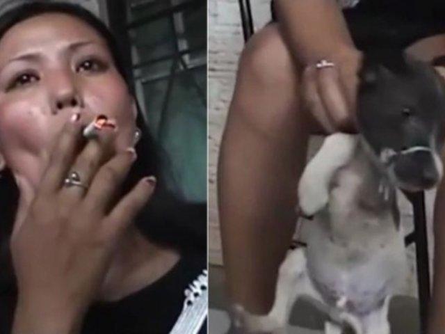 ¡Indignante! Mujer apaga cigarro en los ojos de su perro