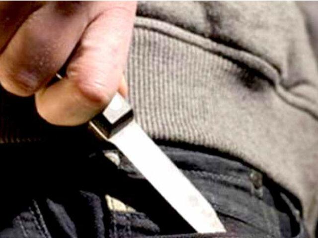 San Luis: mujer queda grave tras ser acuchillada por su pareja
