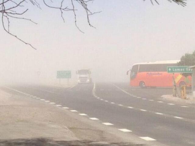 Chile: tormenta de arena sorprendió a residentes de Antofagasta