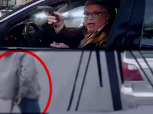 Las veces que violentos conductores amenazaron con arma a otros choferes