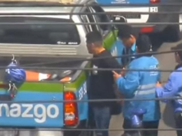 Larcomar: detienen a extranjeros que se hacían pasar como clientes para robar