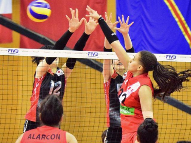 Perú clasificó a los cuartos de final del Mundial de Vóley Sub 18